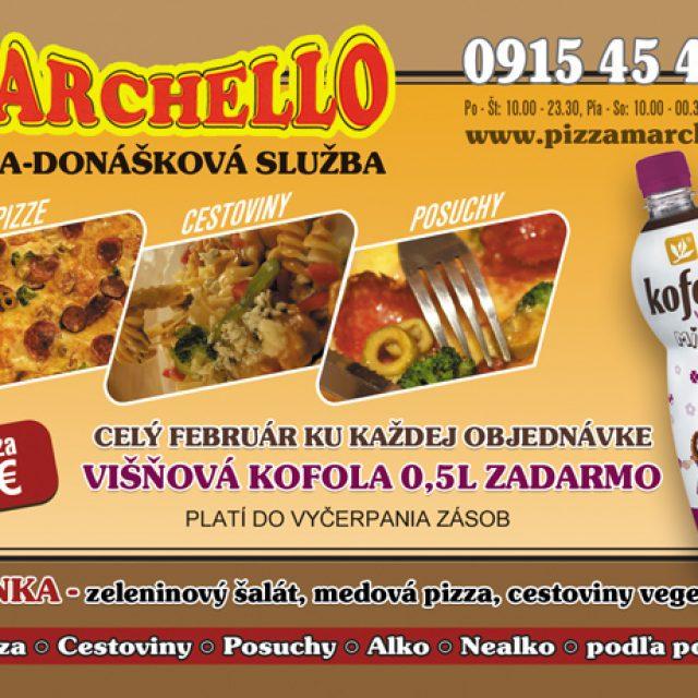 Marchello – donáška obedového menu